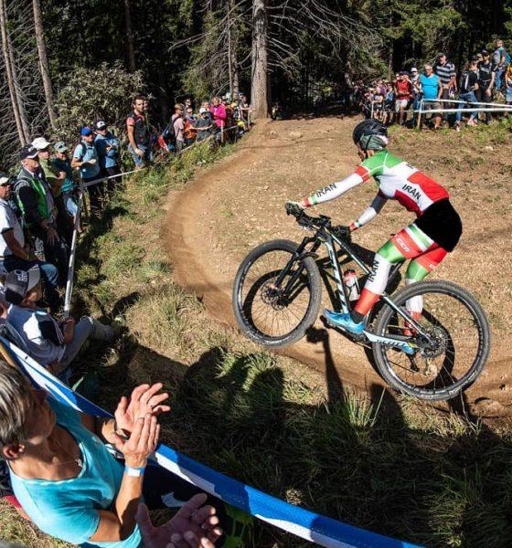فرانک پرتو آذر Faranak Partoazar 560x600 نگاهی به وضعیت فرانک پرتو آذر پیش از حضور در مسابقات دوچرخه سواری کوهستان آسیا