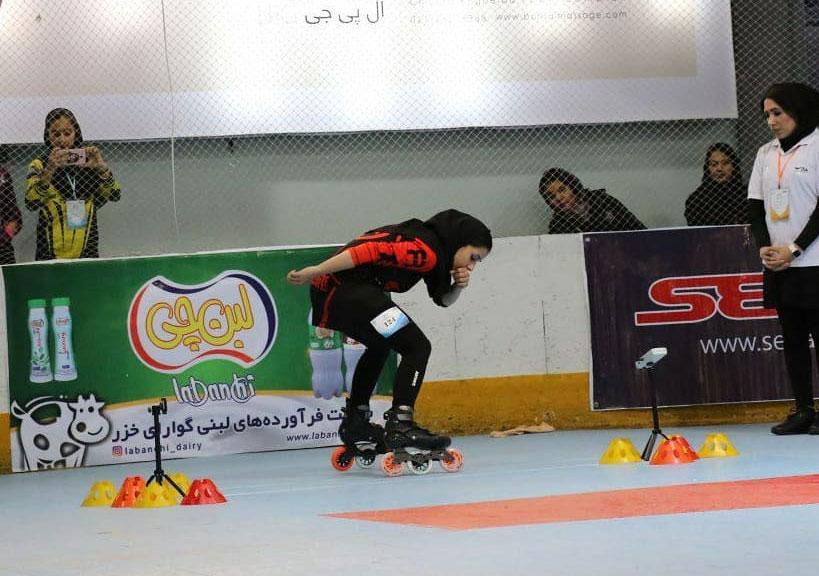 انتخابی تیم ملی اسکیت اسپید اسلالوم | رومینا سالک و لعیا عربی قهرمان شدند
