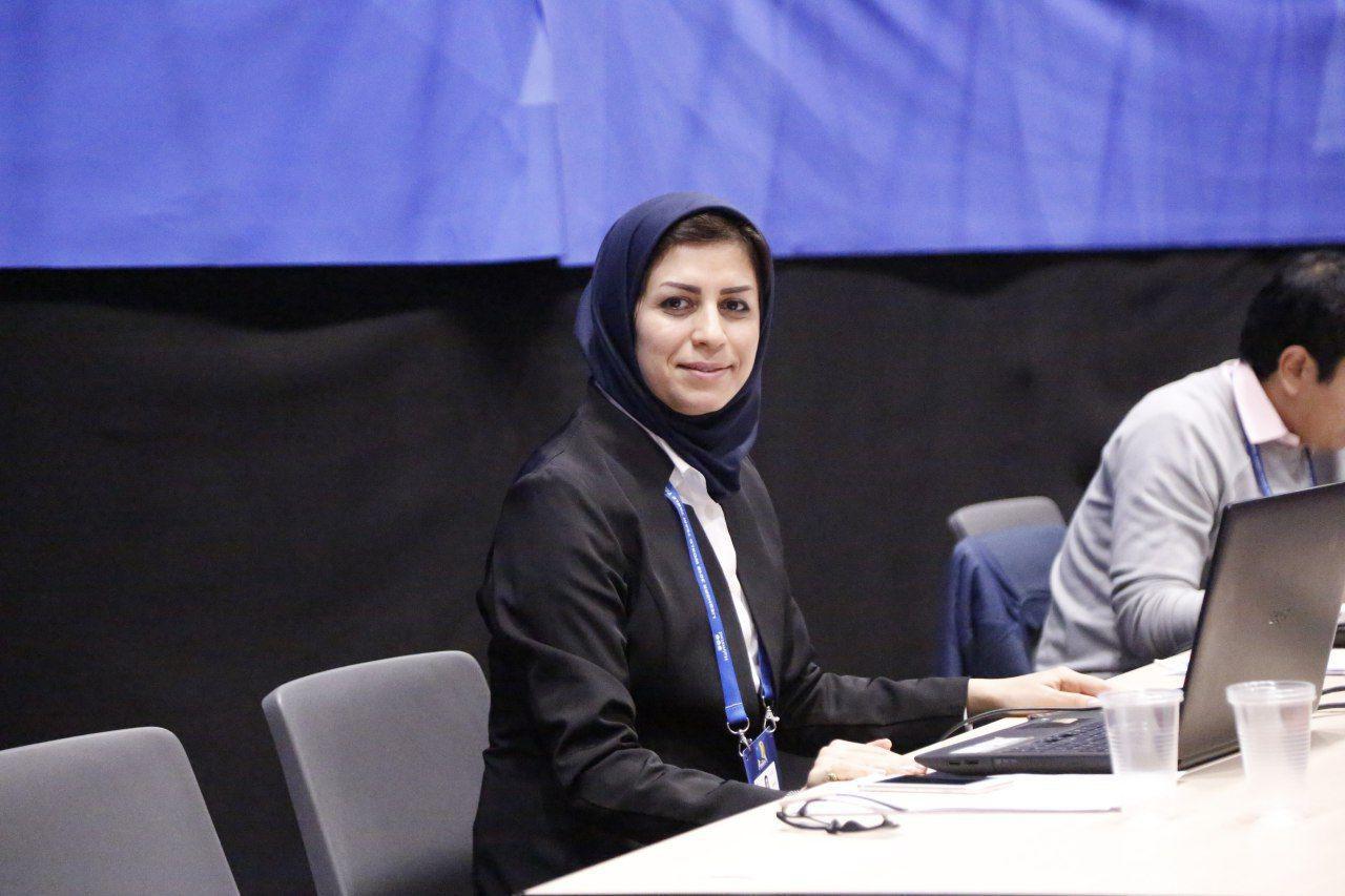 نصیبه دلیر هروی بالاترین نشان داوری تنیس روی میز جهان را کسب کرد