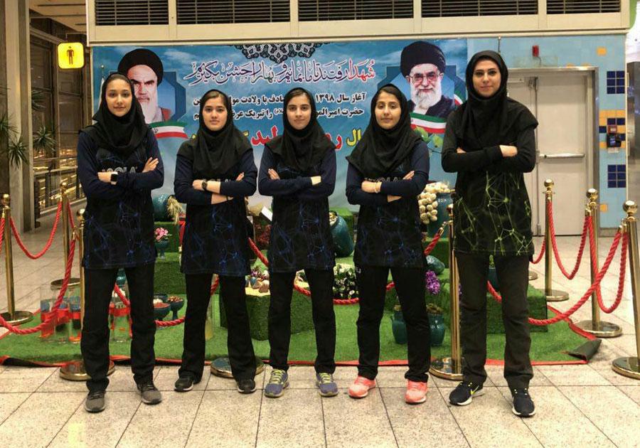 دختران پینگ پنگ باز ایران مهمان لیگ تنیس روی میز ترکیه شدند