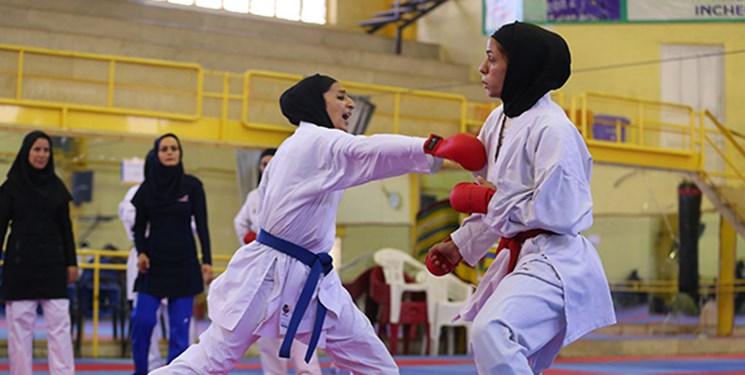 مسابقات کاراته ورودی اردوی تیم ملی | درخشش حدیث جمال، زهره برزگر و هنگامه جعفری