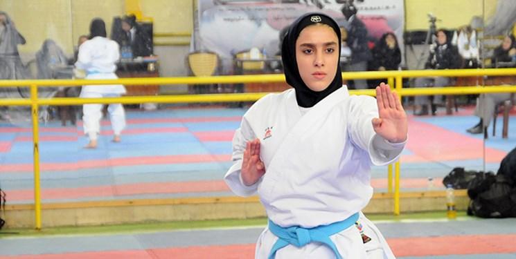فاطمه صادقی نماینده ایران در مسابقات جهانی ساحلی سن دیه گو