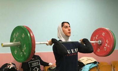 3102010 400x240 وزنه برداری قهرمانی آسیا | الهام حسینی در جایگاه ششم قرار گرفت