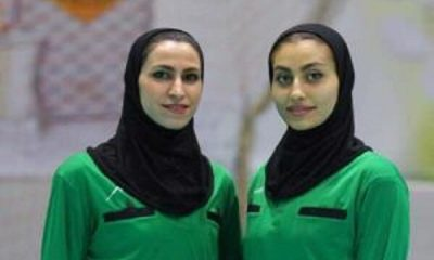 3104332 400x240 عاطفه مظفری و فرناز مظاهری ؛ داوران هندبال ایران در مسابقات شرق آسیا