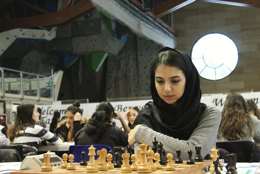 آغاز لیگ شطرنج چین | تساوی سارا خادم الشریعه برابر هانگ
