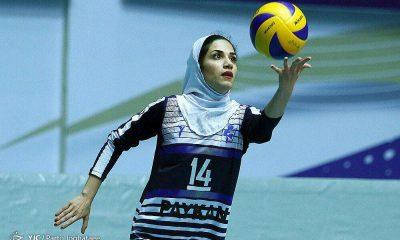 الهام فلاح والیبال بانوان پیکان تهران 400x240 الهام فلاح پاسور تیم ملی والیبال بانوان: والیبال بخش بزرگی از زندگی من است