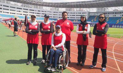 تیراندازی کمان 400x240 تاریخ سازی دختران کماندار | ایران در جمع ۴ تیم برتر کاپ جهانی شانگهای