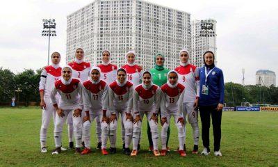 تیم ملی فوتبال جوانان بانوان 400x240 ایران 5 1 لبنان | حذف تلخ به خاطر یک مشت کارت زرد