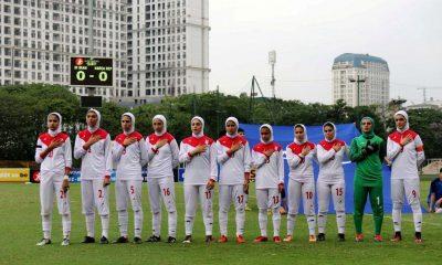 تیم ملی فوتبال جوانان زیر 19 سال دختران ایران 400x240 آینده فوتبال زنان ایران | چشم به نسلی که محصول کشت گلخانهای است