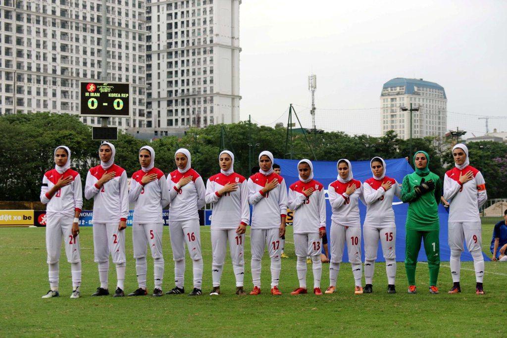 تیم ملی فوتبال جوانان زیر 19 سال دختران ایران آینده فوتبال زنان ایران   چشم به نسلی که محصول کشت گلخانهای است