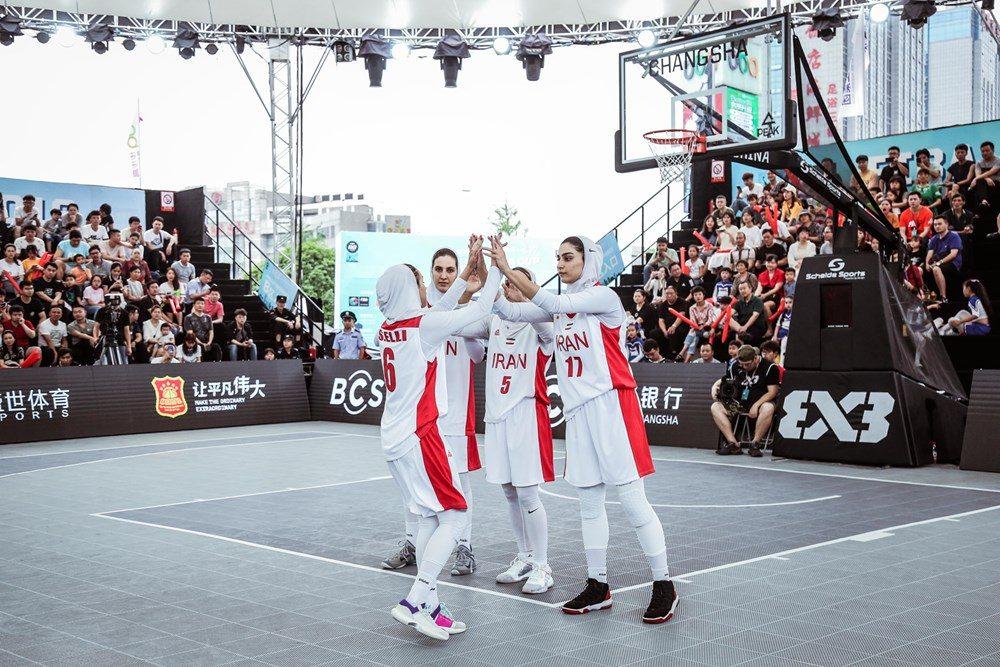 دیدار ایران و تایلند در مسابقات بسکتبال سه نفره بانوان آسیا 3 1000x667 تصاویر | دیدار بسکتبال ۳ نفره بانوان ایران و تایلند در کاپ آسیا