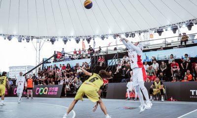 دیدار ایران و تایلند در مسابقات بسکتبال سه نفره بانوان آسیا 4 400x240 تصاویر | دیدار بسکتبال ۳ نفره بانوان ایران و تایلند در کاپ آسیا