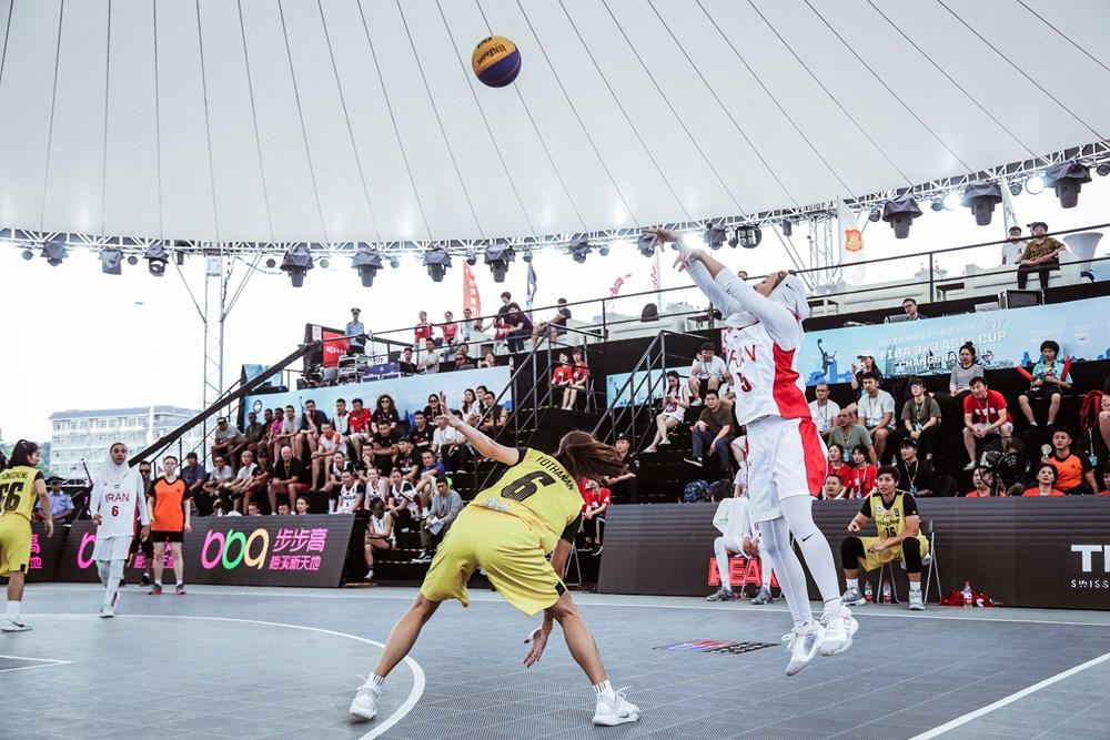 تصاویر | دیدار بسکتبال ۳ نفره بانوان ایران و تایلند در کاپ آسیا