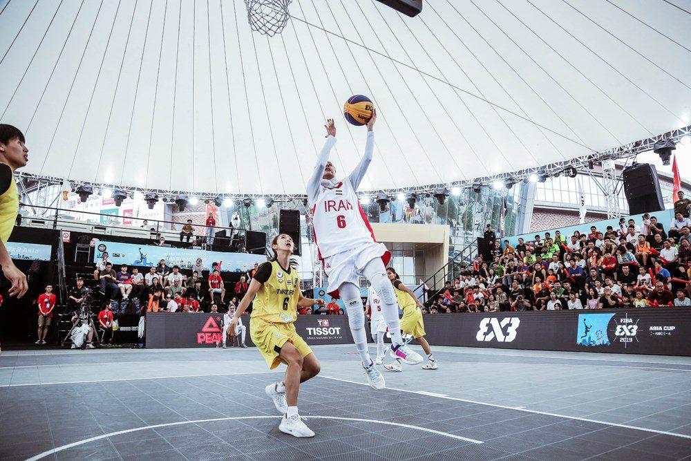 دیدار ایران و تایلند در مسابقات بسکتبال سه نفره بانوان آسیا 8 1000x667 تصاویر | دیدار بسکتبال ۳ نفره بانوان ایران و تایلند در کاپ آسیا