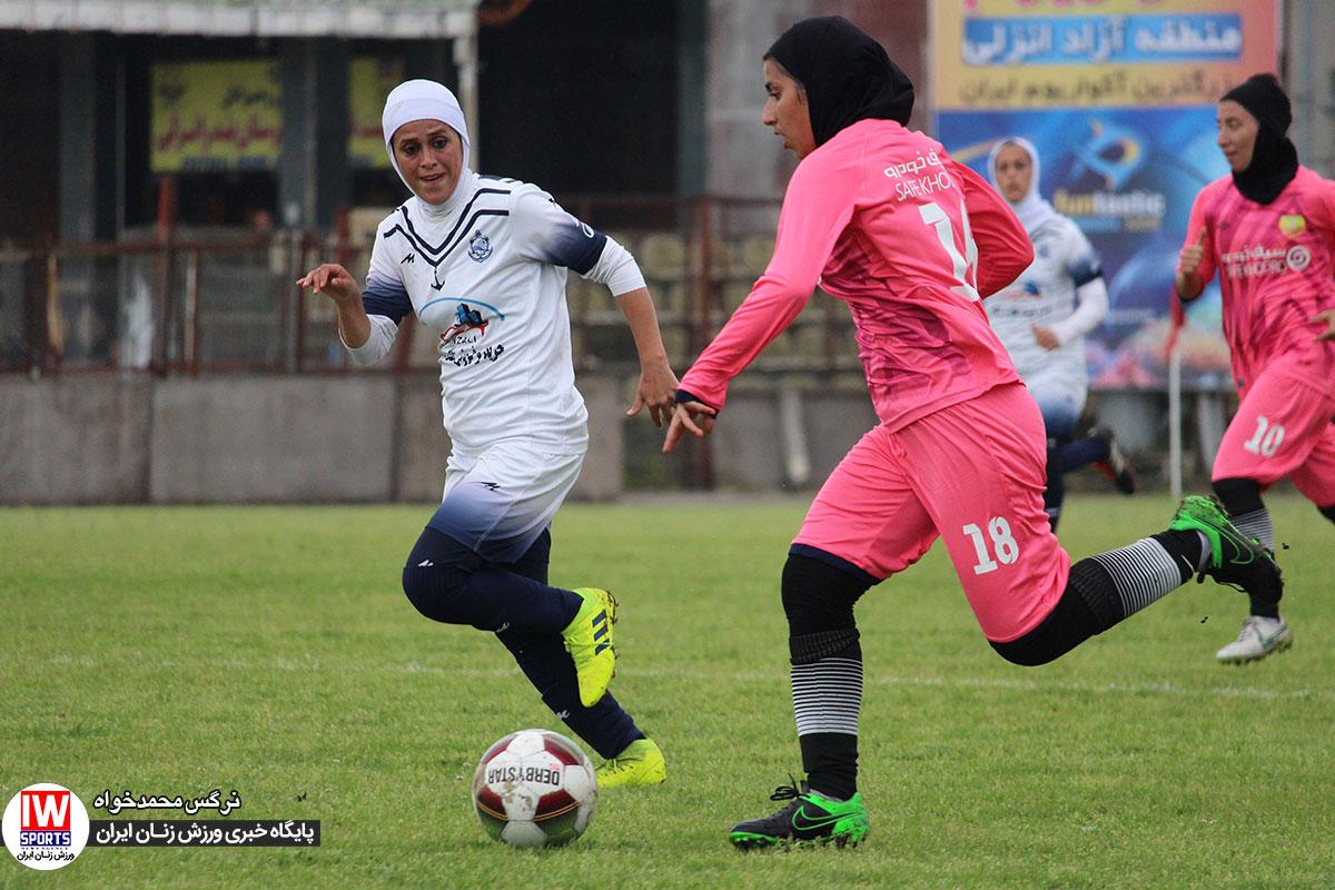 دیدار فوتبال بانوان ملوان انزلی و آذرخش تهران 20 وزارت ورزش از پخش اینترنتی ورزش زنان حمایت میکند؟