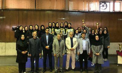 شمشیربازی سپاهان اصفهان 400x240 سپاهان قهرمان لیگ شمشیربازی بانوان شد
