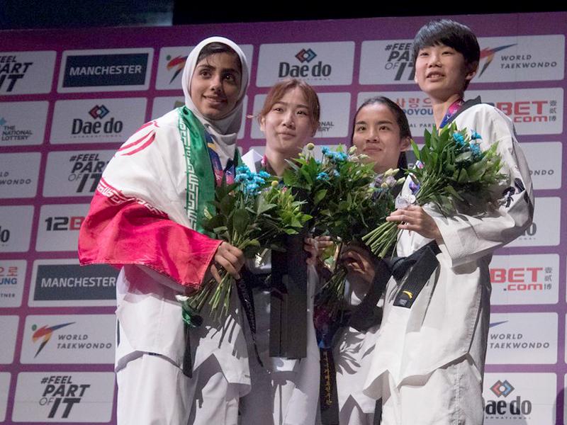 تکواندوی بانوان در مسابقات قهرمانی جهان