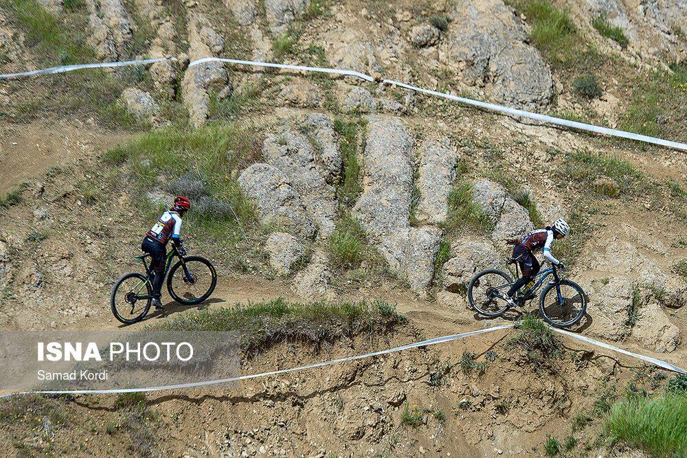 مرحله اول لیگ دوچرخه سواری کوهستان در کرج 2 1000x667 تصاویر لیگ دوچرخه سواری دانهیل و کراس کانتری بانوان در باغستان