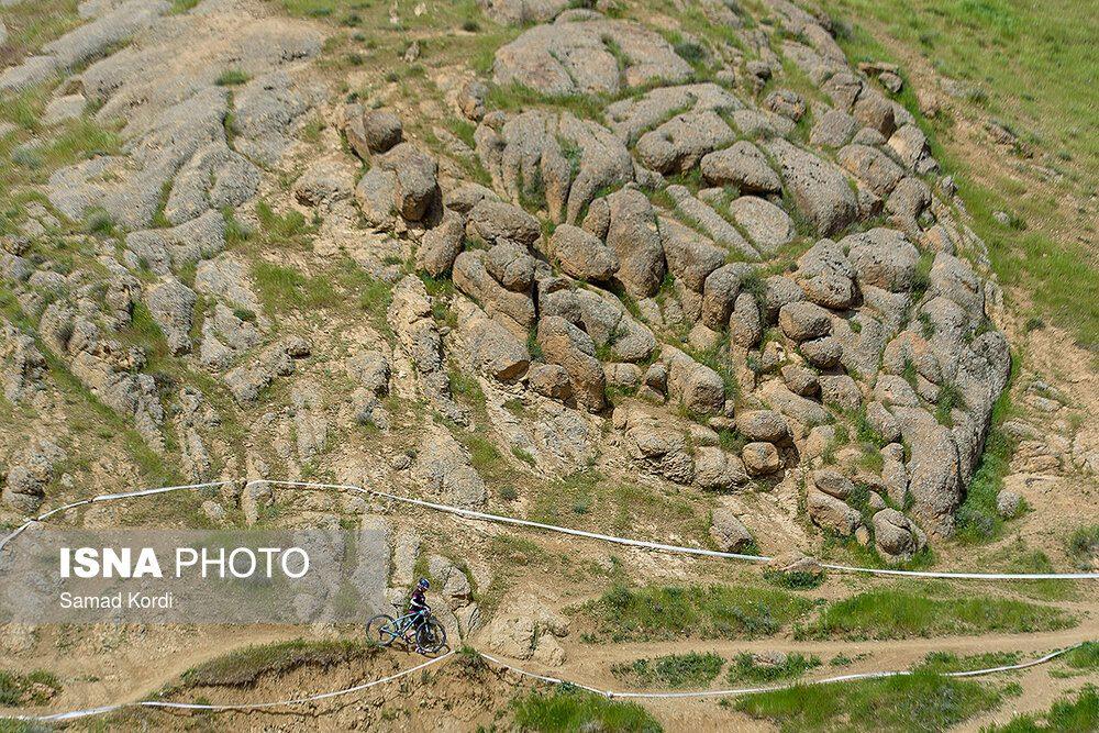 مرحله اول لیگ دوچرخه سواری کوهستان در کرج 3 1000x667 تصاویر لیگ دوچرخه سواری دانهیل و کراس کانتری بانوان در باغستان