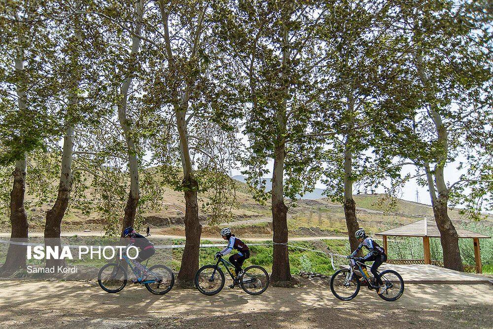 مرحله اول لیگ دوچرخه سواری کوهستان در کرج 7 1000x667 تصاویر لیگ دوچرخه سواری دانهیل و کراس کانتری بانوان در باغستان