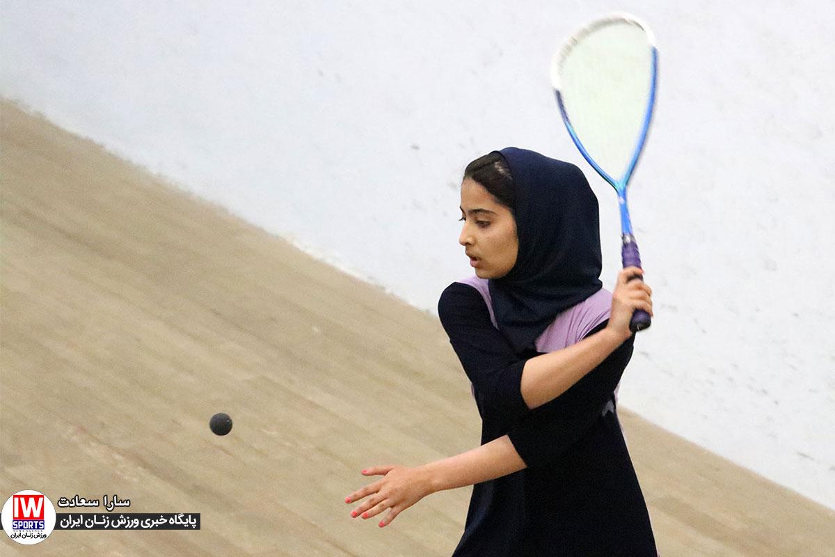 قهرمانی دانشگاه آزاد در لیگ برتر اسکواش بانوان به همراه تصاویر