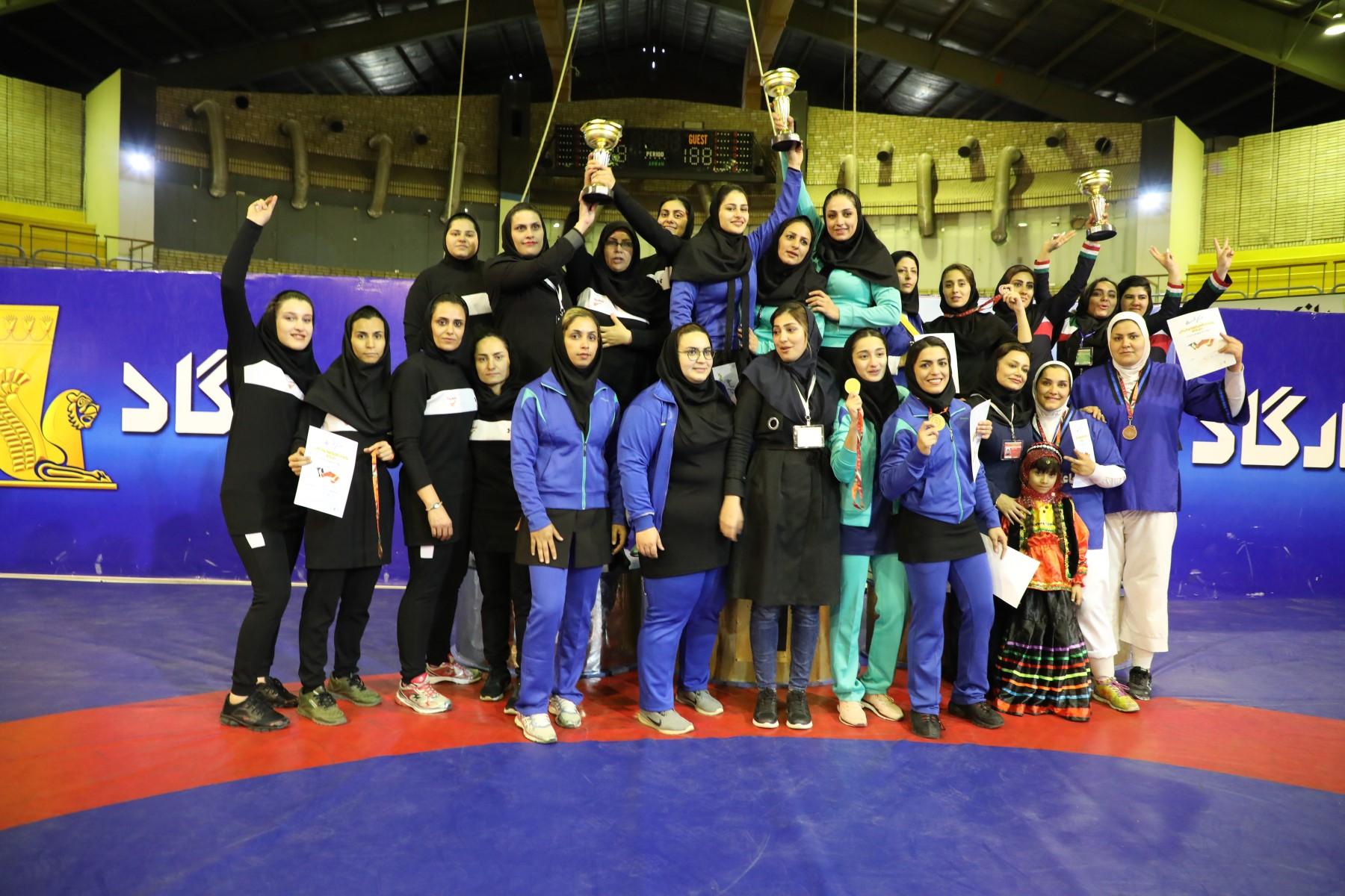 کشتی آلیش بانوان کشور اردیبهشت 98 مسابقات کشتی آلیش بانوان کشور | مازندران مدالها را درو کرد