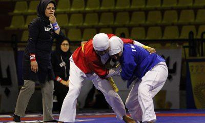 کشتی آلیش بانوان 400x240 آغاز رقابت دختران کشتی گیر ایران در مسابقات جهانی کشتی آلیش