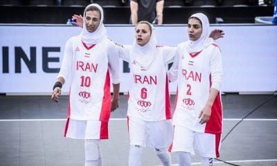 بسکتبال سه نفره قهرمانی جهان در هلند سعیده علی شادی عبدالوند کیمیا یزدیان طهرانی 400x240 بسکتبال سه نفره ایران در رتبه هفتم رنکینگ جهانی | چقدر شانس المپیکی شدن داریم؟