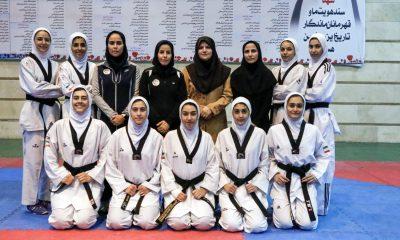تیم ملی تکواندوی نوجوانان دختر اعزامی به اردن 400x240 تکواندوکاران اعزامی به مسابقات نوجوانان آسیا مشخص شدند