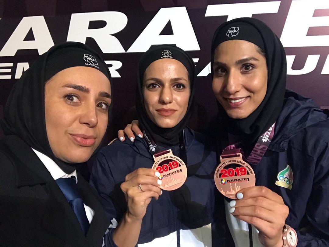 کاراته قهرمانی آسیا | عباسعلی و خاکسار طلایی شدند؛ کاتای تیمی نقره و فاطمه صادقی برنز گرفتند