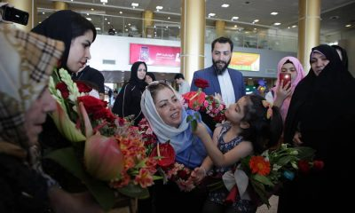 راضیه شیرمحمدی و فرزندش 400x240 به بهانه ایست قبلی راضیه شیرمحمدی | نگاهی بر دوران ۱۳ ساله کماندار مدال آور