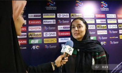 شرمین رحمتی 400x240 ویدئو | مصاحبه مربیان ذوب آهن و راه یاب ملل مریوان در لیگ فوتبال بانوان