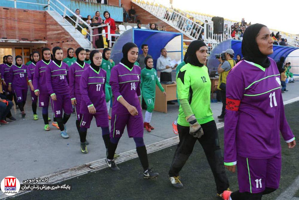 گزارش تصویری | دیدار تیم های شهرداری سیرجان و سپیدار قائم شهر در لیگ فوتبال بانوان
