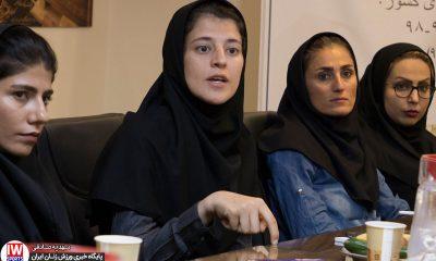 فاطمه شریف در قرعه کشی لیگ برتر فوتسال بانوان 400x240 شریف: نیمنگاهی به قهرمانی خواهیم داشت