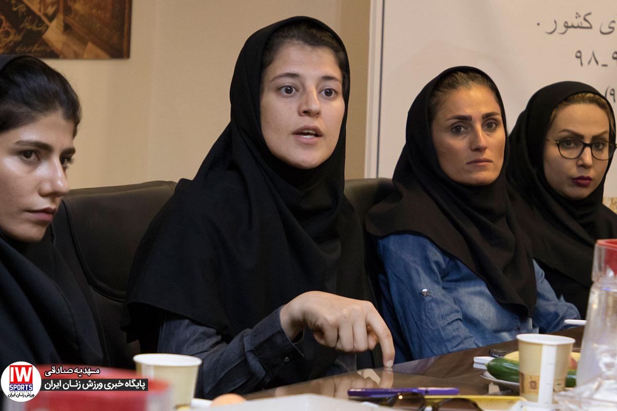 فاطمه شریف در قرعه کشی لیگ برتر فوتسال بانوان لیگ سال گذشته کیفیت بالایی داشت| شریف: رسانه ها نقش مهمی ایفا می کنند