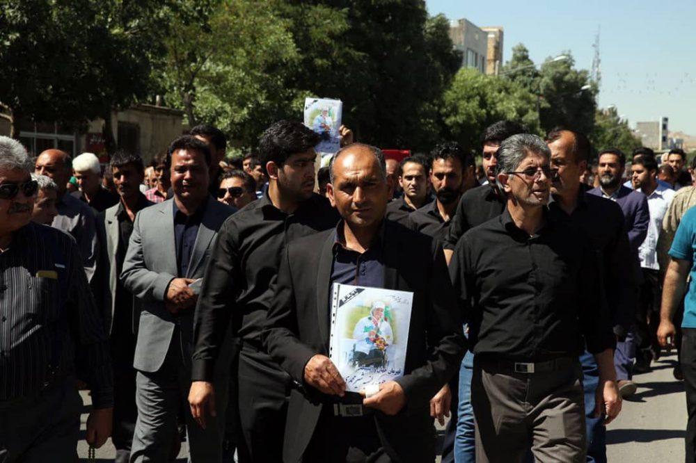 پ78پ78 1000x666 گزارش تصویری | مراسم خاکسپاری راضیه شیرمحمدی؛ مدال آور پارالمپیک و پاراآسیایی ایران