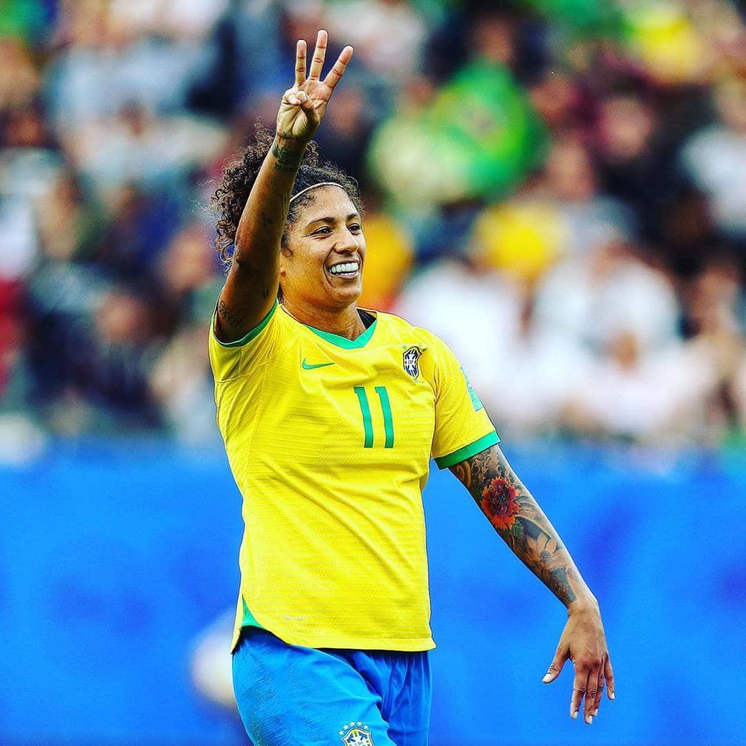 کریستیانه جام جهانی فوتبال زنان| درخشش کریستیانه برزیلیها مقابل جامائیکا