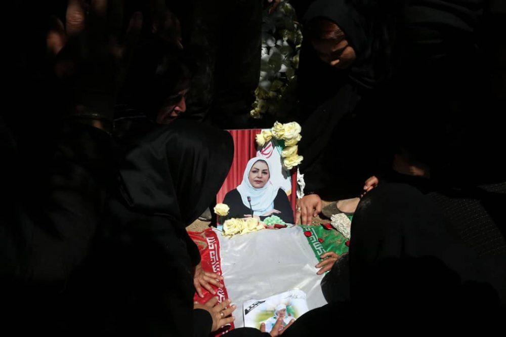 1 1 1000x666 گزارش تصویری | مراسم خاکسپاری راضیه شیرمحمدی؛ مدال آور پارالمپیک و پاراآسیایی ایران