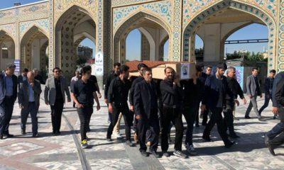 13980406000341 Test PhotoN 400x240 برگزاری مراسم تشییع پیکر بانوی افتخارآفرین ایران| راضیه شیرمحمدی به خاک سپرده شد