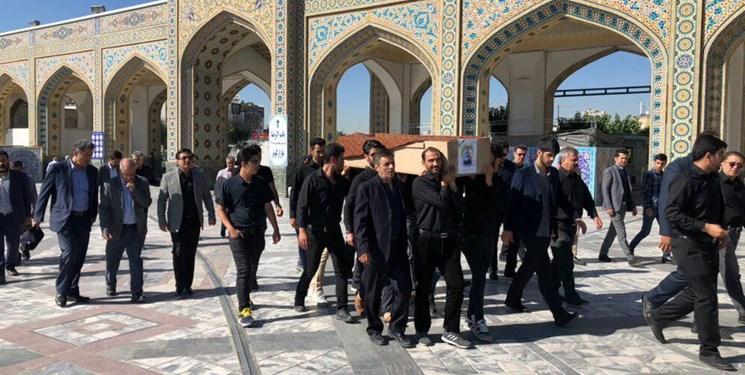 برگزاری مراسم تشییع پیکر بانوی افتخارآفرین ایران| راضیه شیرمحمدی به خاک سپرده شد