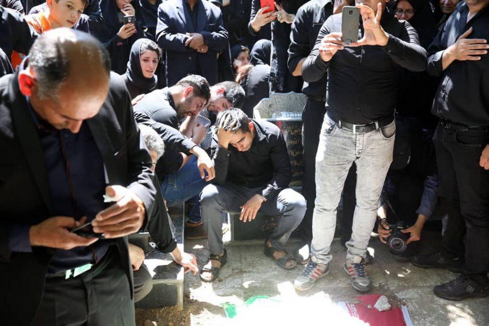147 1000x666 گزارش تصویری | مراسم خاکسپاری راضیه شیرمحمدی؛ مدال آور پارالمپیک و پاراآسیایی ایران