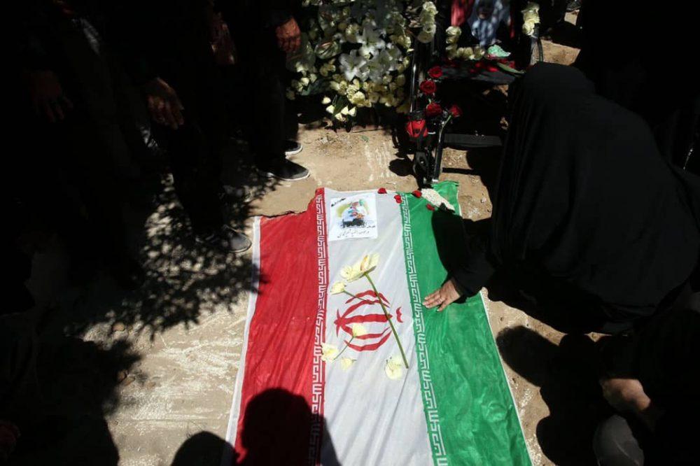 3 1000x666 گزارش تصویری | مراسم خاکسپاری راضیه شیرمحمدی؛ مدال آور پارالمپیک و پاراآسیایی ایران