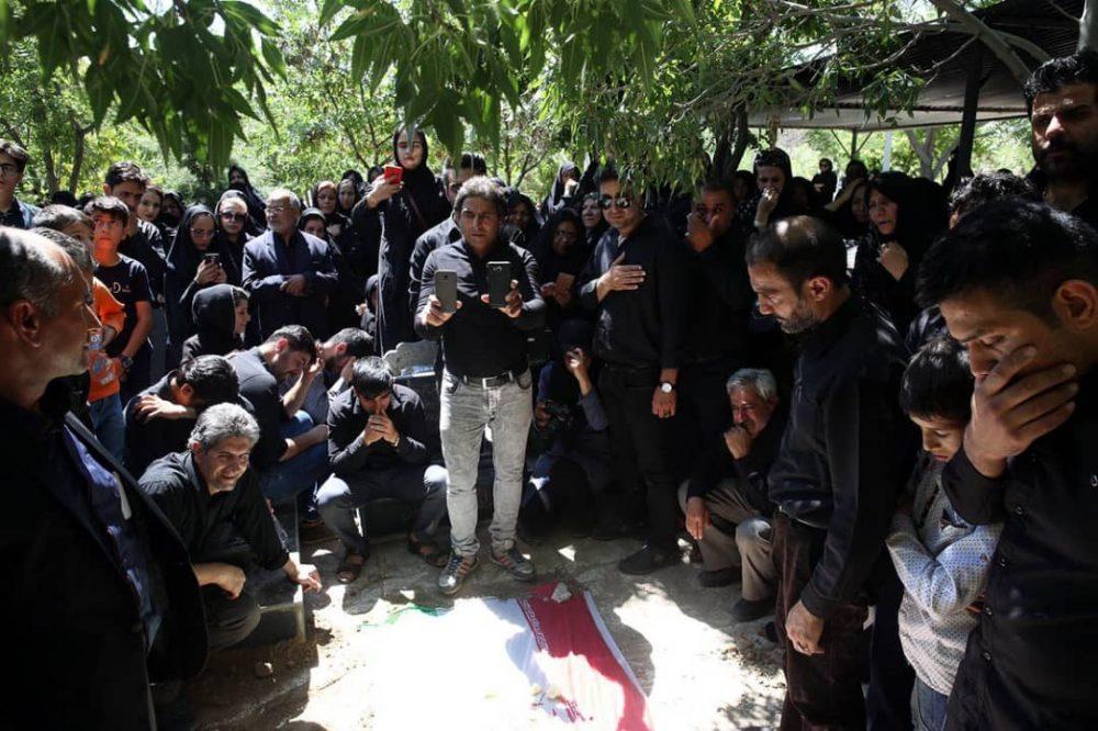 357 1000x666 گزارش تصویری | مراسم خاکسپاری راضیه شیرمحمدی؛ مدال آور پارالمپیک و پاراآسیایی ایران
