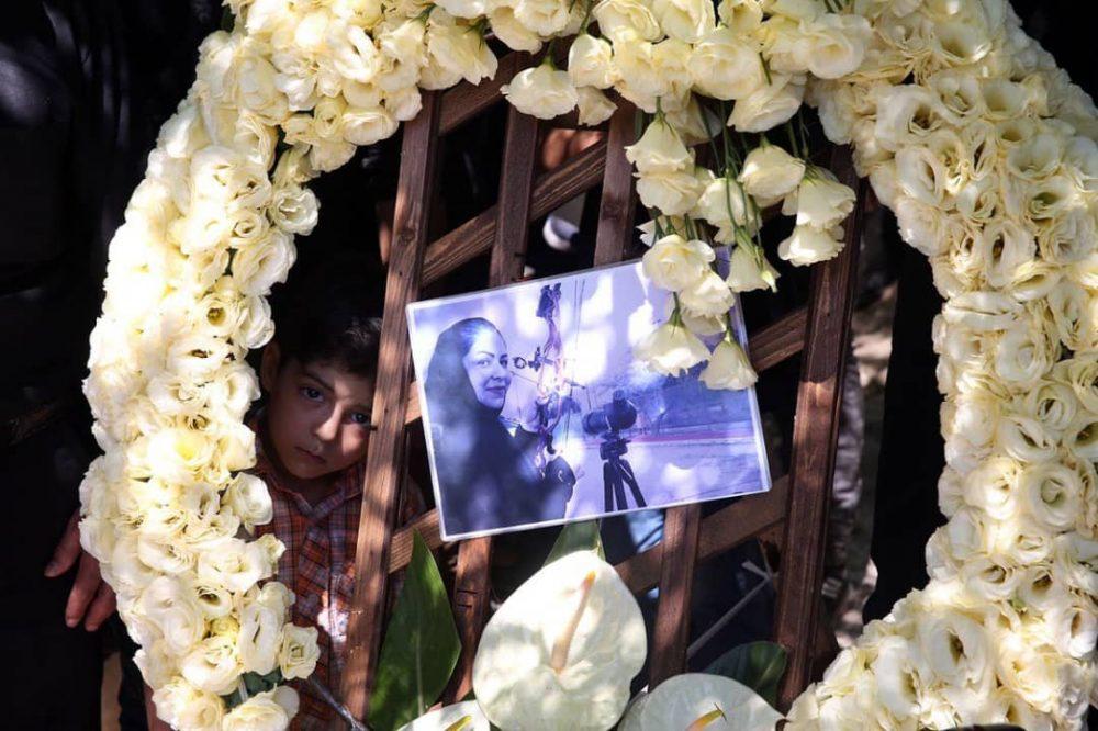 4 1 1000x666 گزارش تصویری | مراسم خاکسپاری راضیه شیرمحمدی؛ مدال آور پارالمپیک و پاراآسیایی ایران