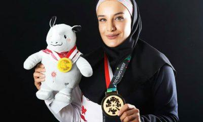 455932769 316023 400x240 سعیده جعفری: اهتزاز پرچم ایران شیرین ترین لحظه زندگی ام بود