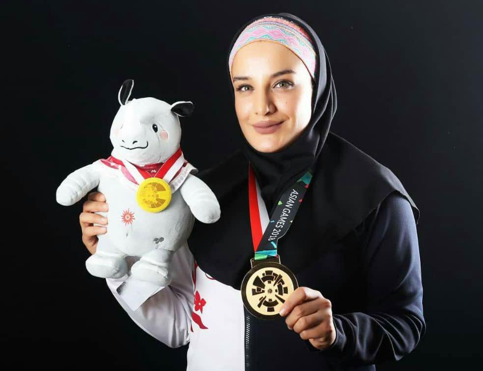 سعیده جعفری: اهتزاز پرچم ایران شیرین ترین لحظه زندگی ام بود
