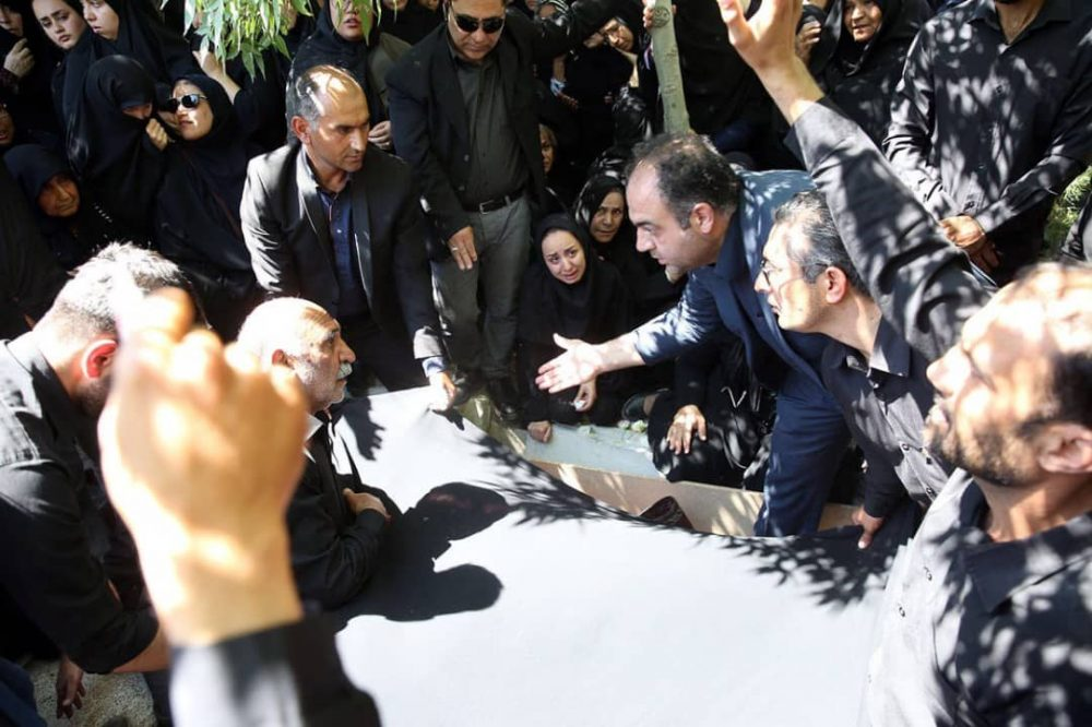 79767 1000x666 گزارش تصویری | مراسم خاکسپاری راضیه شیرمحمدی؛ مدال آور پارالمپیک و پاراآسیایی ایران