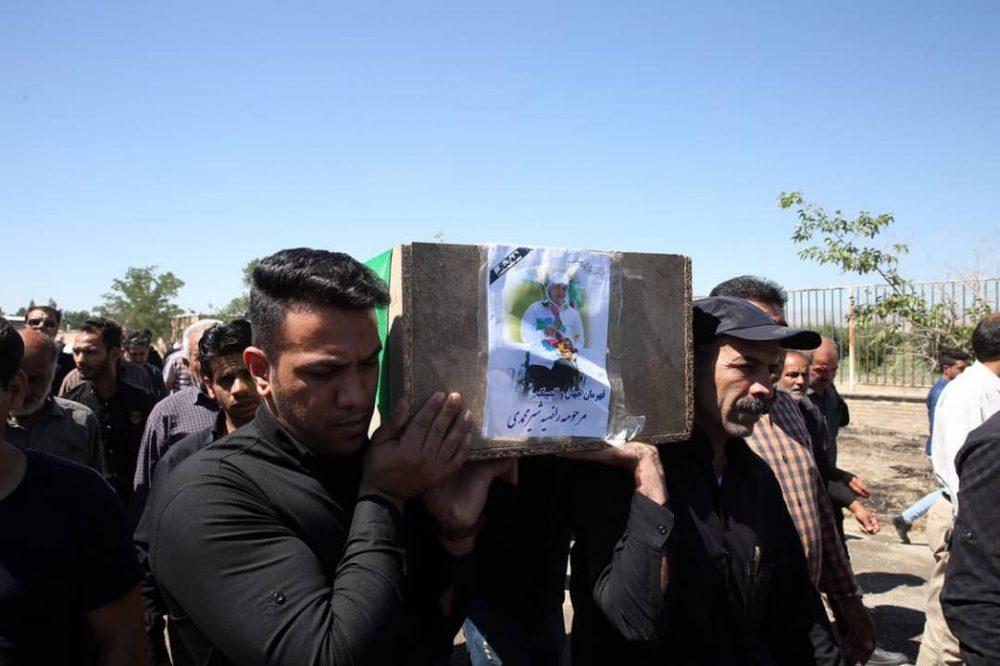79878987 1000x666 گزارش تصویری | مراسم خاکسپاری راضیه شیرمحمدی؛ مدال آور پارالمپیک و پاراآسیایی ایران