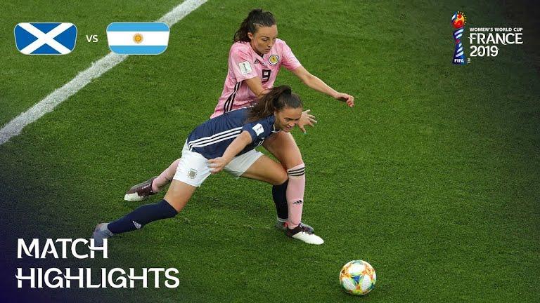 argentina scotland ویدئو | آرژانتین 3 3 اسکاتلند | جام جهانی فوتبال زنان
