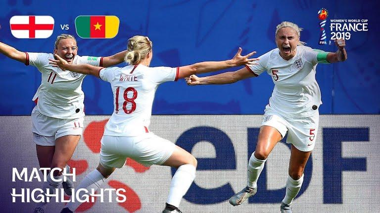 ویدئو | انگلیس 3-0 کامرون | جام جهانی فوتبال زنان